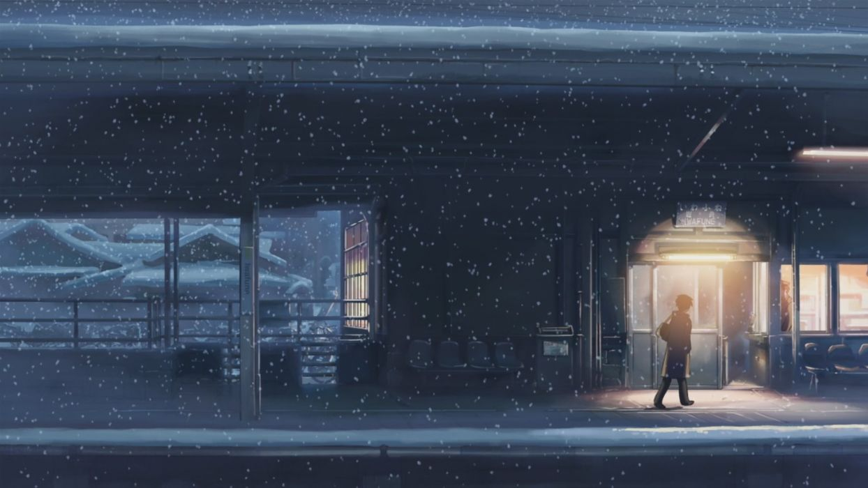originals Anime Snowfall five centimeters per second wallpaper