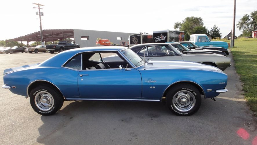 1968 chevy chevrolet camaro-ss 396 cars coupe wallpaper