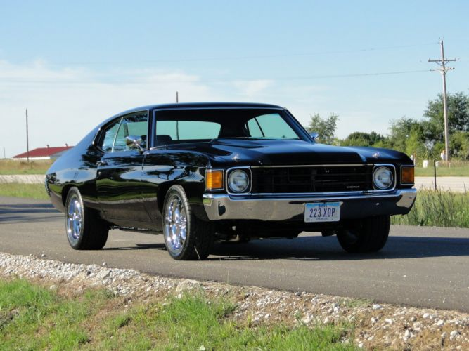 1972 chevy chevrolet chevelle cars coupe wallpaper