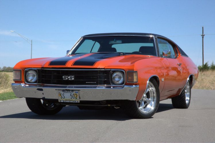 1972 chevy chevrolet chevelle cars wallpaper