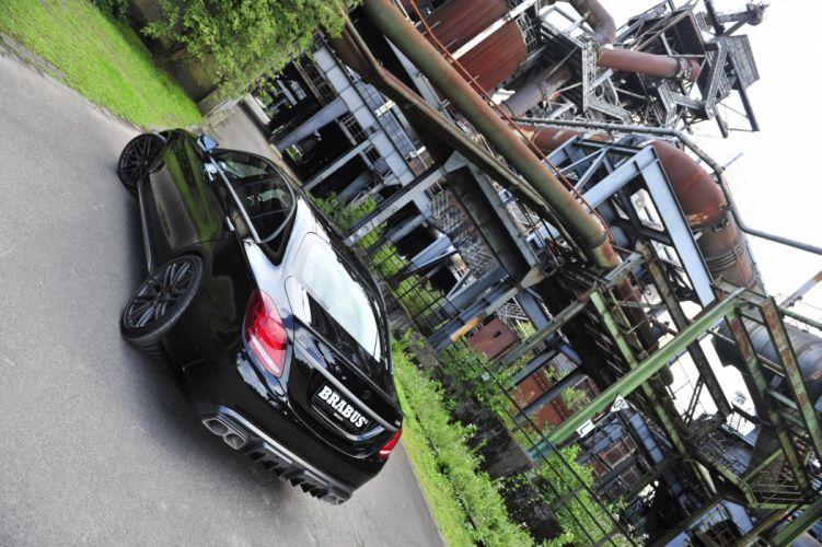 Brabus 2015 Mercedes AMG C63-S cars modified wallpaper