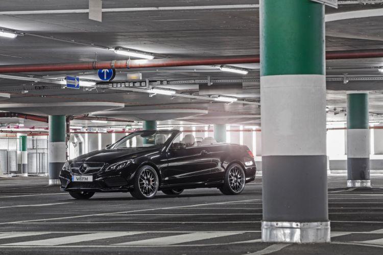 2015 VaTH Mercedes-Benz E500 Cabriolet cars modified wallpaper