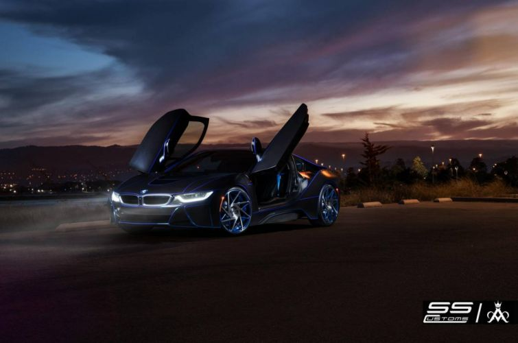 BMW-i8 cars supercars coupe electric wallpaper