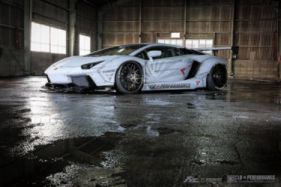 Lamborghini Aventador Lp700 4 Liberty Walk Blue Wallpaper