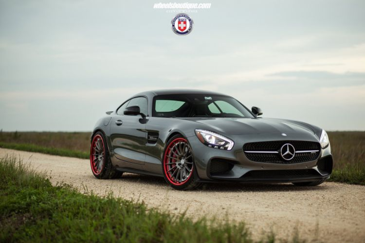 Mercedes AMG GTS HRE wheels cars coupe wallpaper