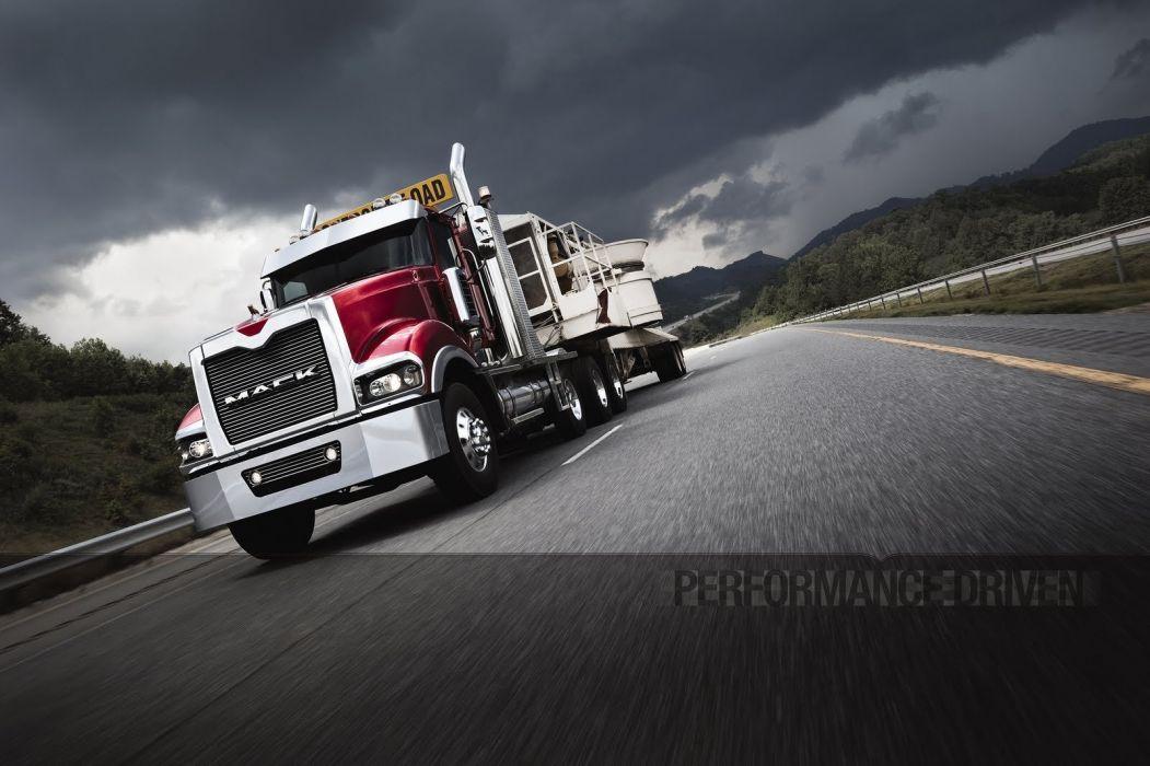 MACK semi tractor transport truck wallpaper