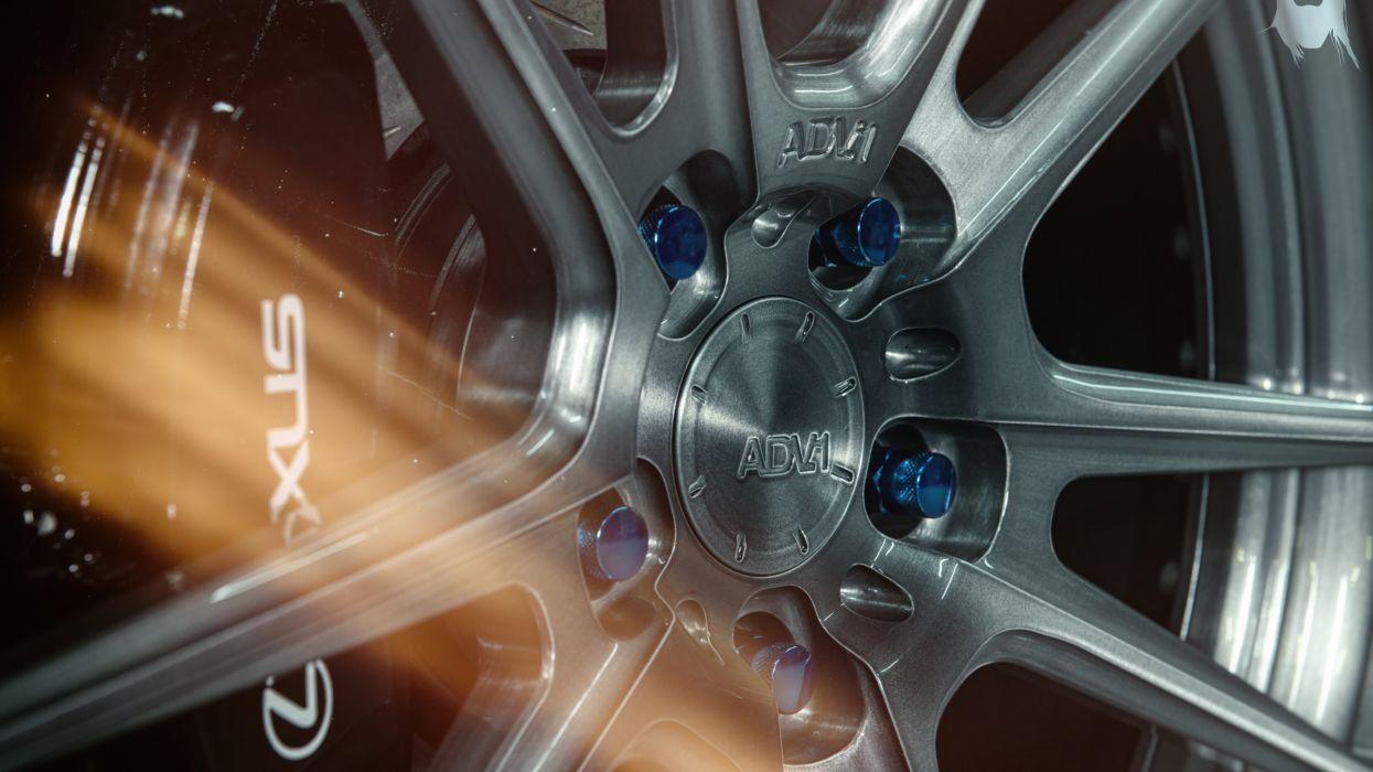 ADV 1 2JZ wheel on Lexus IS 250 wallpaper