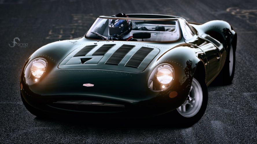 Jaguar 15th Anniversary of Gran Turismo wallpaper