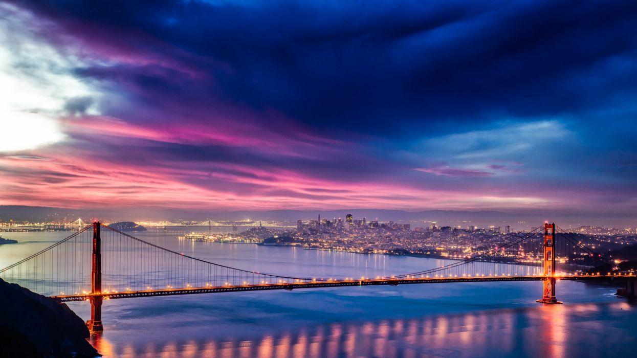 San Francisco Bay Bridge wallpaper