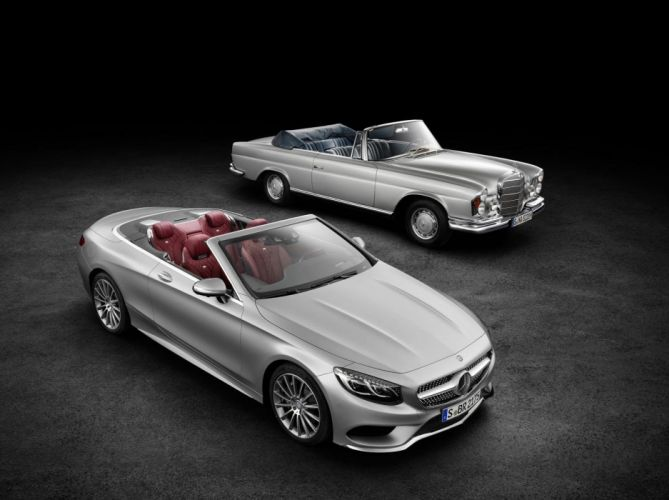 2017 Mercedes-Benz S-Class Cabriolet cars convertible wallpaper