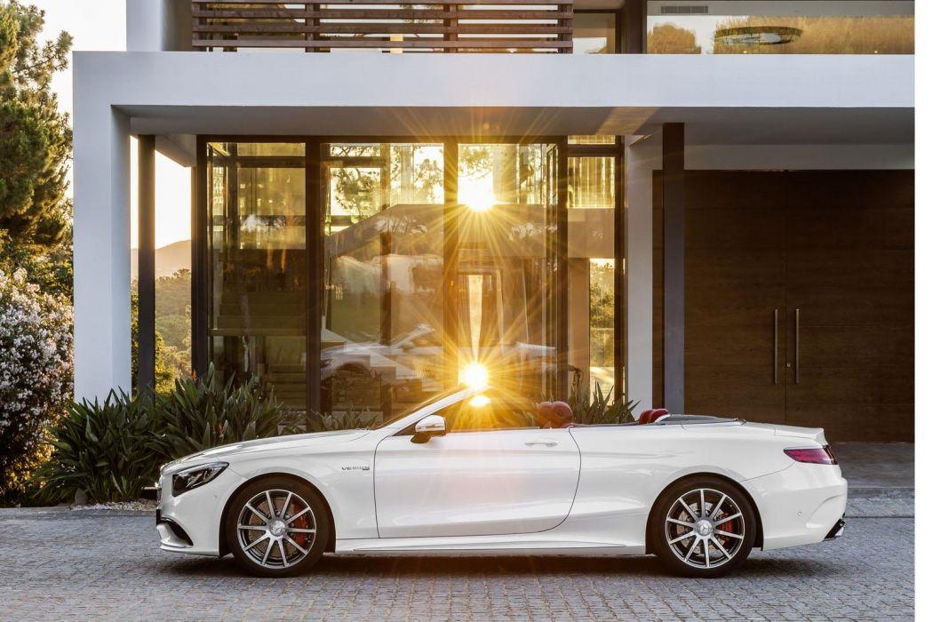 2017 Mercedes-Benz S63 amg Cabriolet cars convertible wallpaper