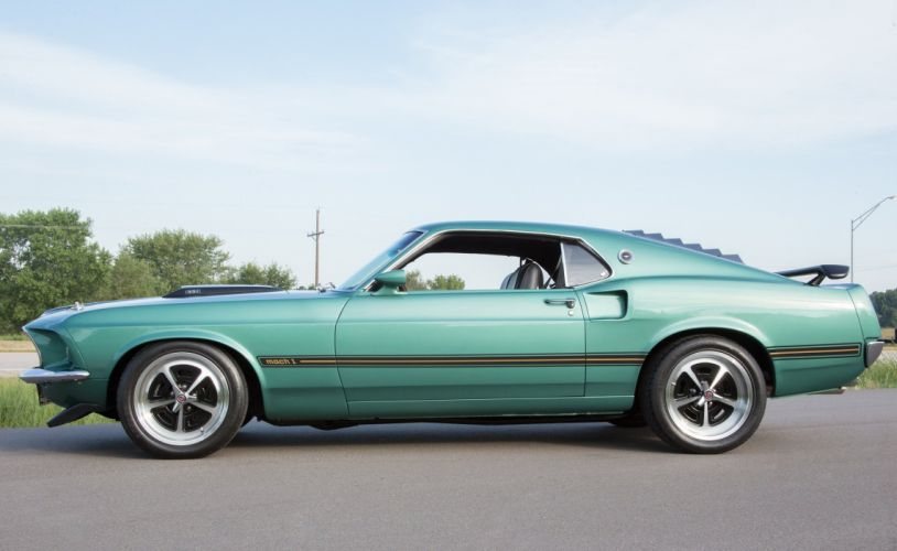 1969 Mustang mach 1 cars coupe wallpaper