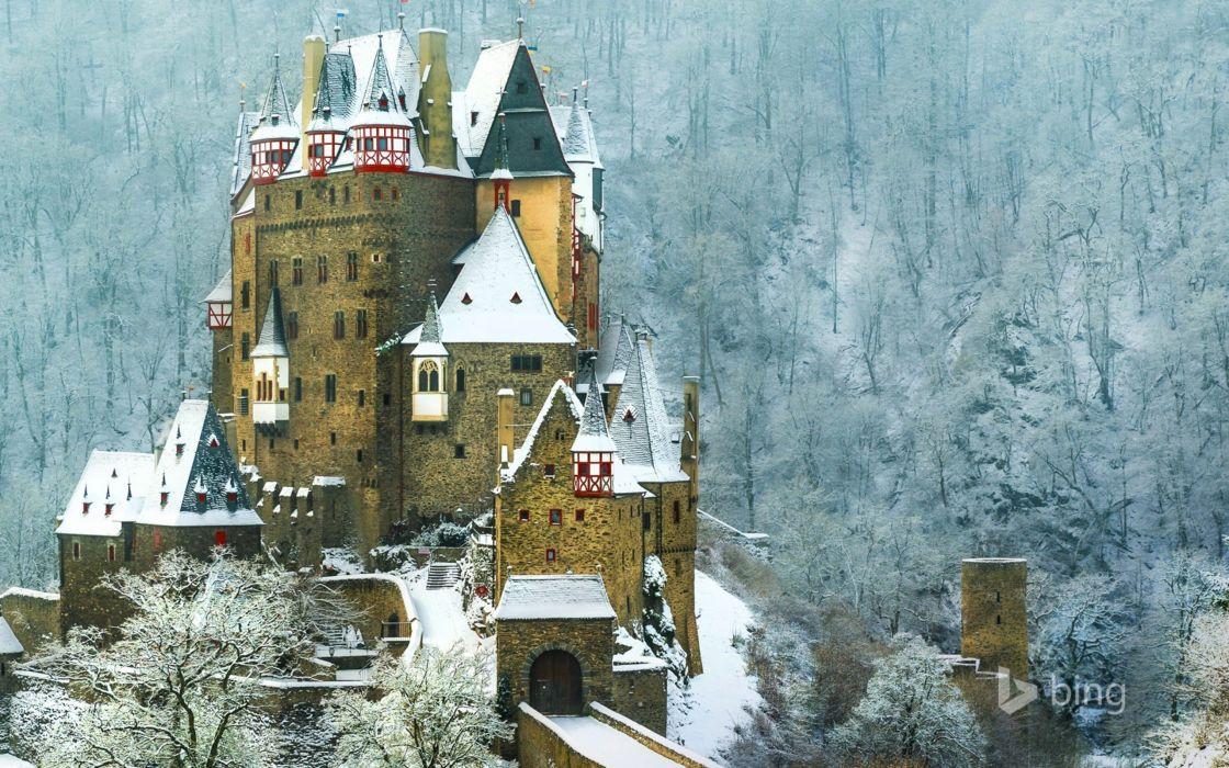 castillo bourg eltz alemania wallpaper