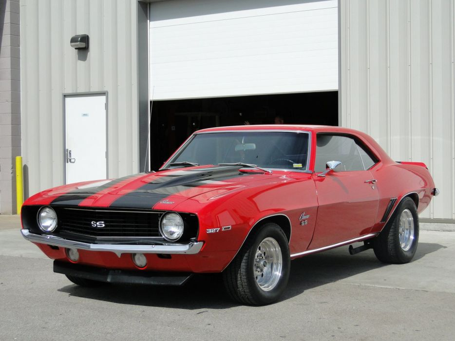 1969 Chevy Camaro ss cars coupe wallpaper