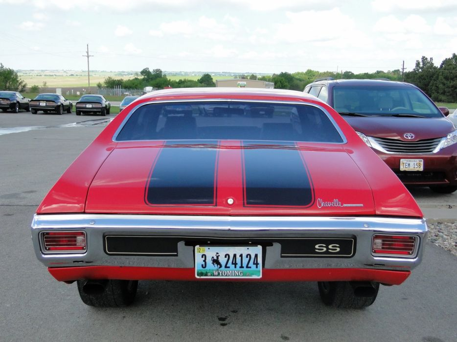 1970 Chevy chevelle ss cars coupe wallpaper
