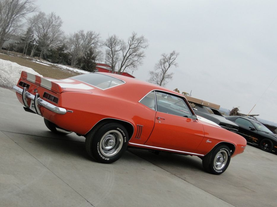1969 chevy chevrolet camaro z28 cars coupe wallpaper