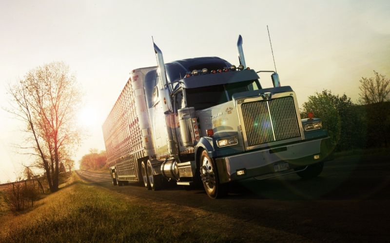 WESTERN STAR semi tractor transport wallpaper