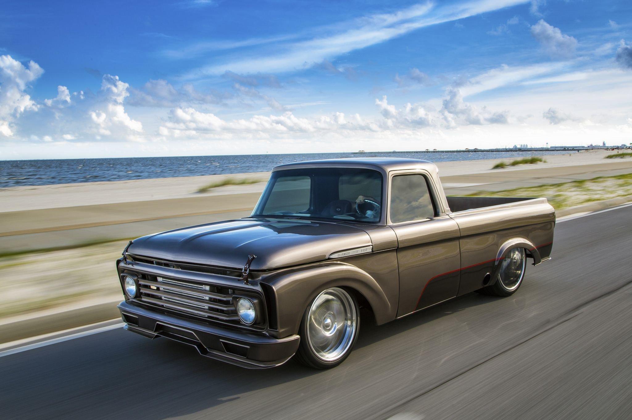 Ford Pickup Truck >> 1962 Ford F-100 pickup truck custom hot rod rods f100 classic wallpaper | 2048x1360 | 796736 ...