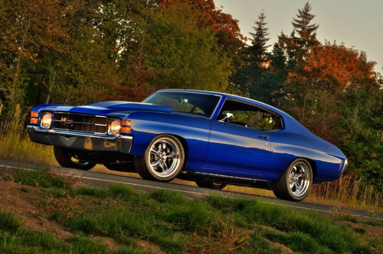 1971 Chevrolet Chevelle muscle classic hot rod rods custom wallpaper