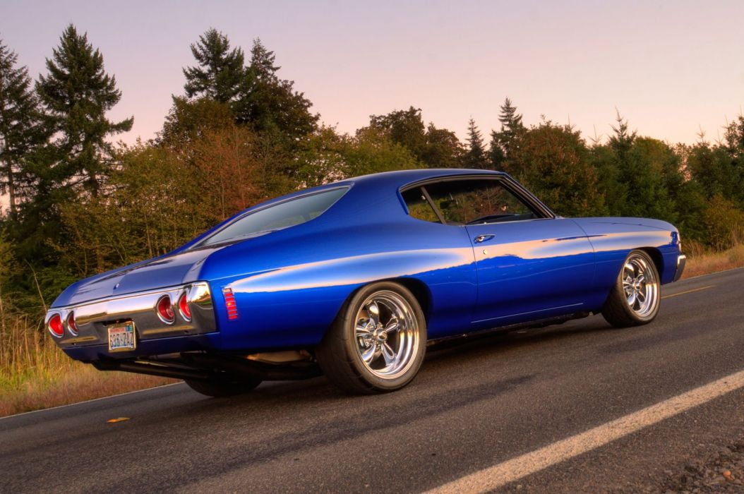1971 Chevrolet Chevelle muscle classic hot rod rods custom wallpaper