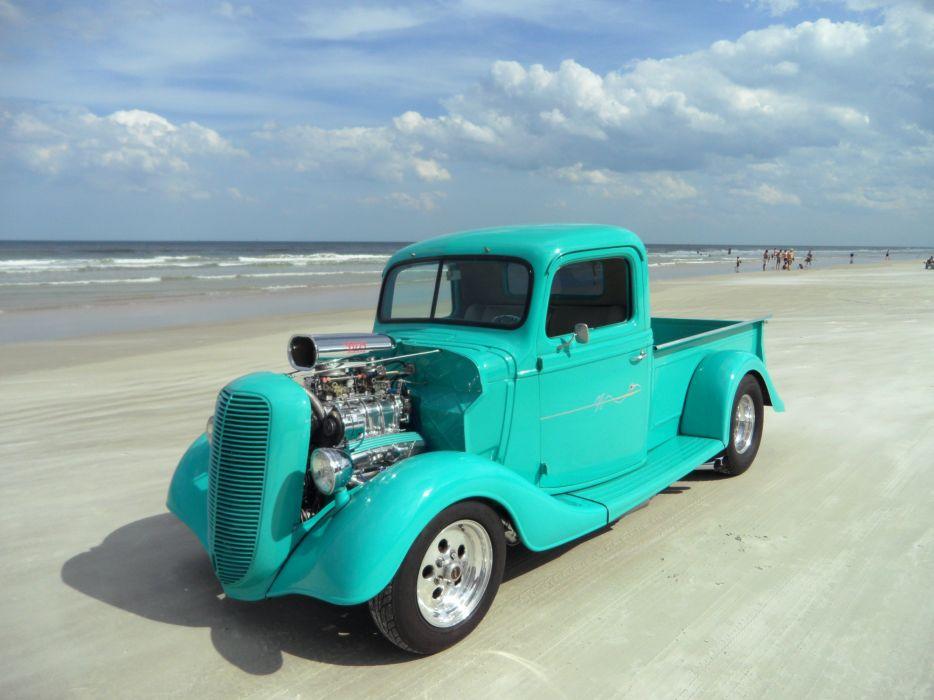 pickup hot rod rods custom truck wallpaper