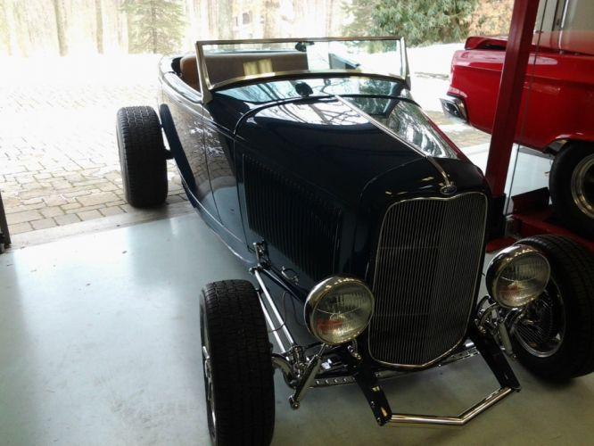 1932 Dearborn Deuce ford custom hot rod rods wallpaper
