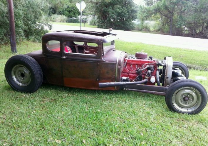 1931 Ford Model-A Coupe Hot Rod rat rods custom vintage wallpaper