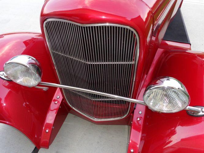 1932 Ford Roadster Cabriolet Hot Rod rods custom vintage wallpaper
