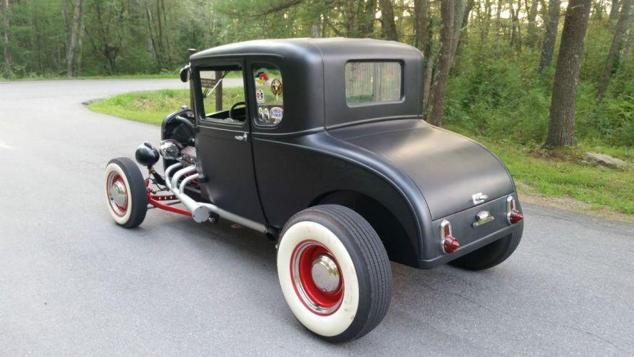 1929 Ford Model-A hot rod rods custom vintage wallpaper