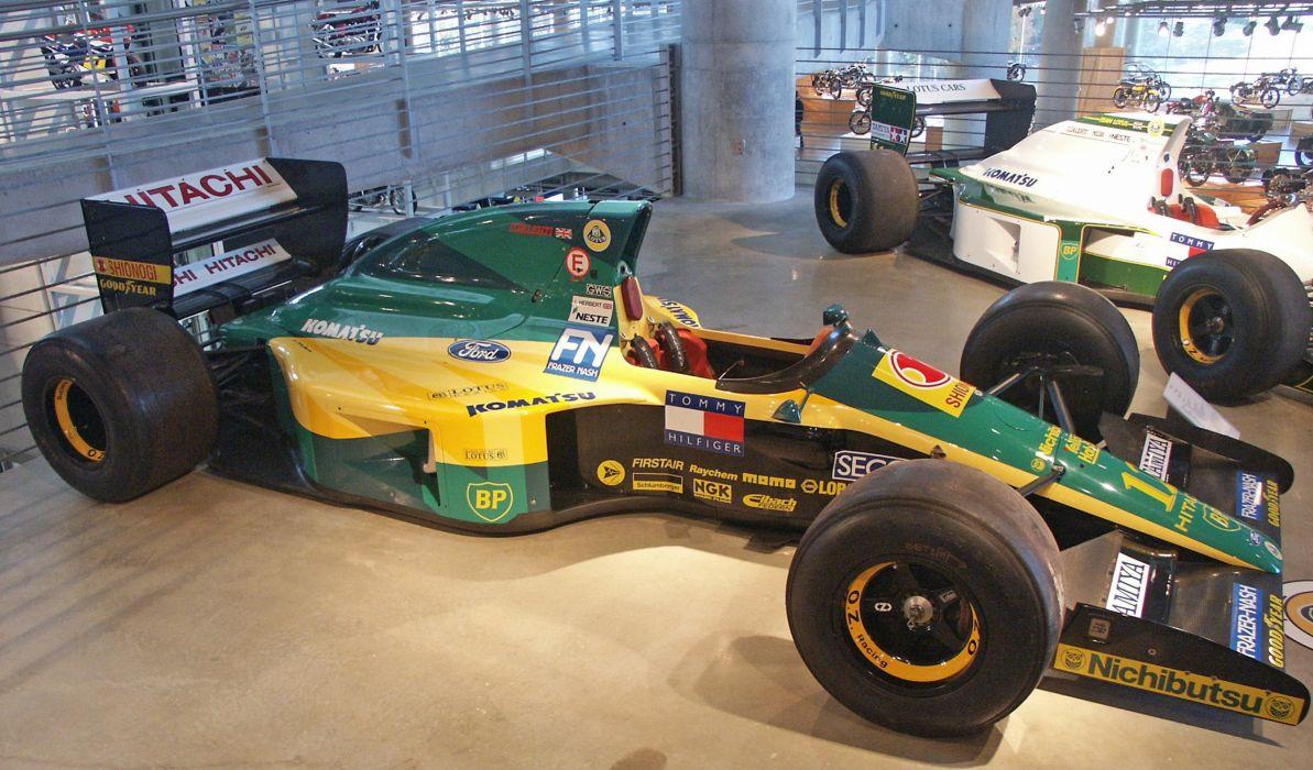 1992 Lotus 102D f-1 formula race racing wallpaper