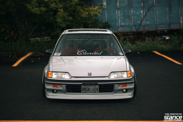 Honds Civic EF tuning custom wallpaper