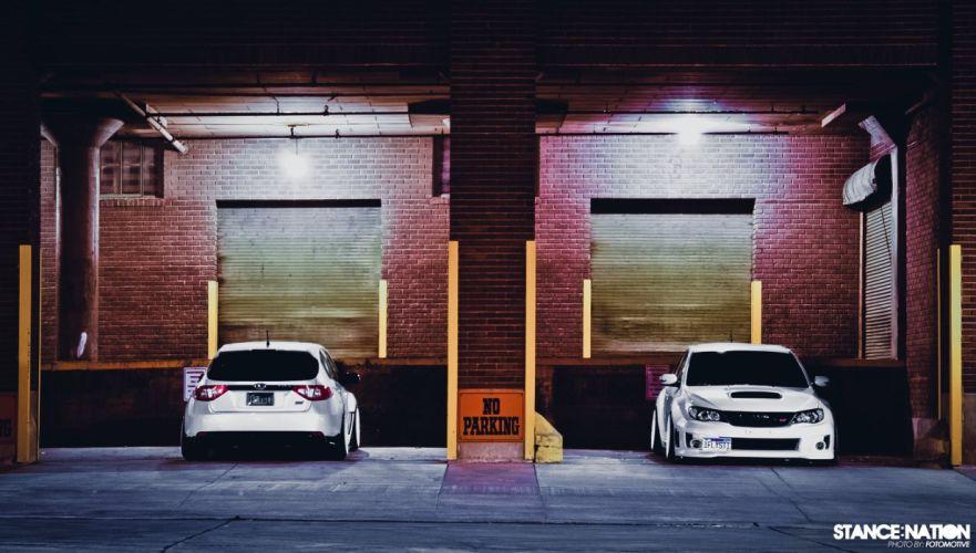 Subaru WRX STI tuning custom wallpaper