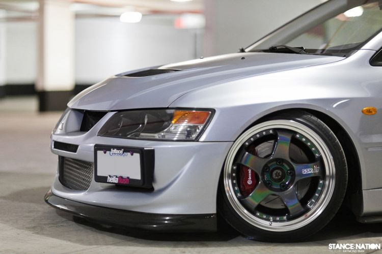 Mitsubishi Lancer Evolution tuning custom wallpaper