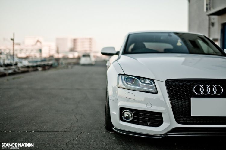 Audi A-5 tuning custom wallpaper