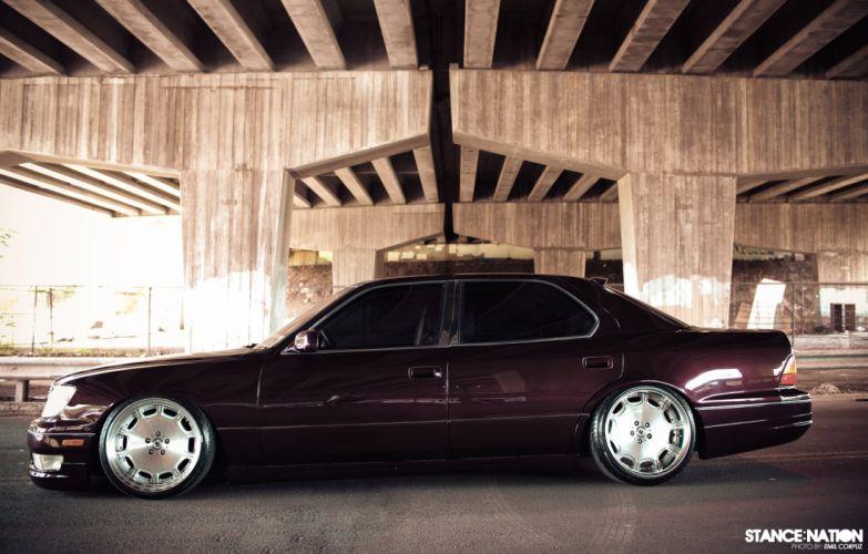 Lexus L-S tuning custom wallpaper