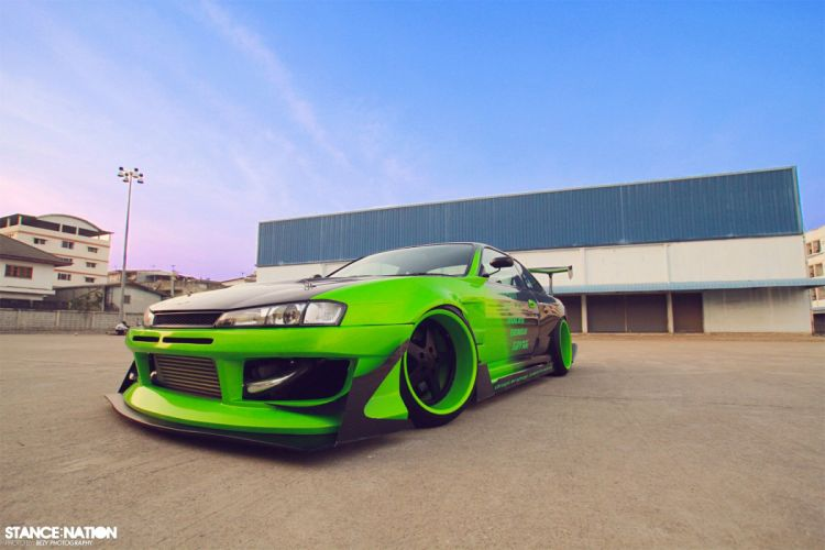 Nissan Silvia S14 tuning custom wallpaper