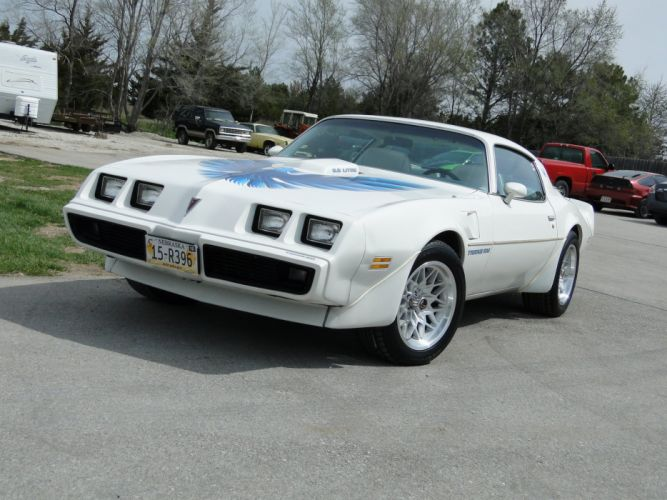 1979 White Pontiac Trans-Am cars coupe wallpaper