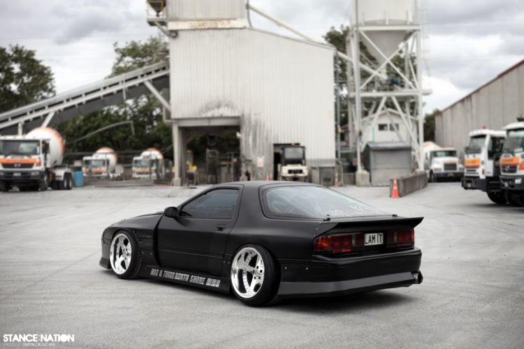 1988 Mazda RX7 FC3S tuning custom wallpaper