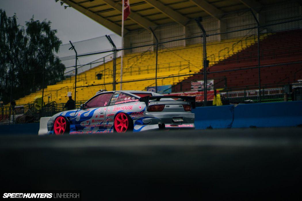 1990 Nssan 240SX S13 drift race racing tuning custom wallpaper