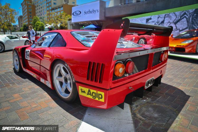 Ferrari F40 race racing supercar wallpaper