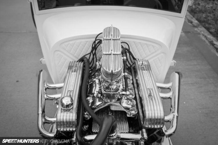 1928 Ford Tudor vntage custom hot rod rods wallpaper