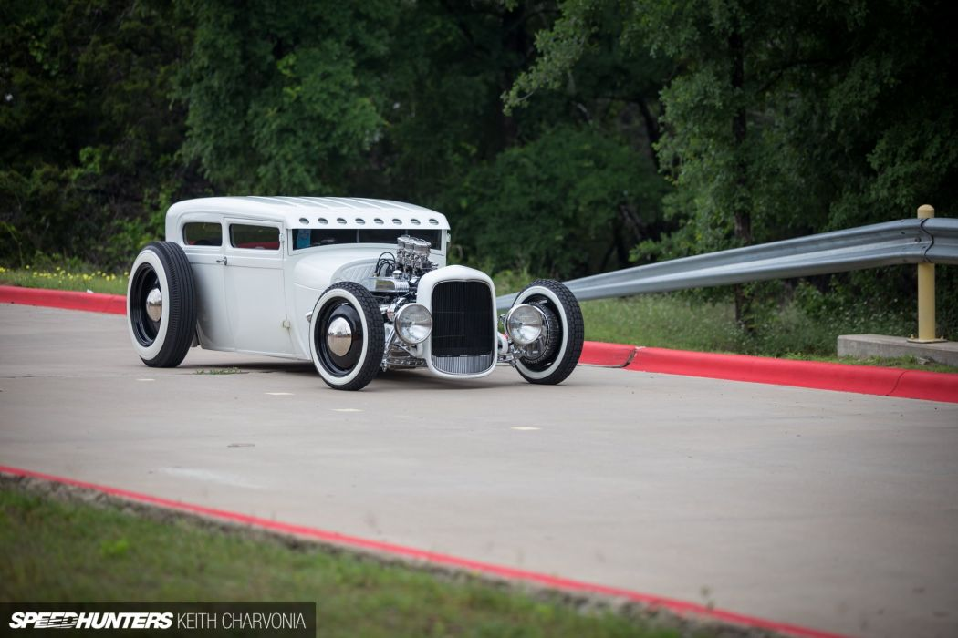 1928 Ford Tudor vntage custom hot rod rods wallpaper