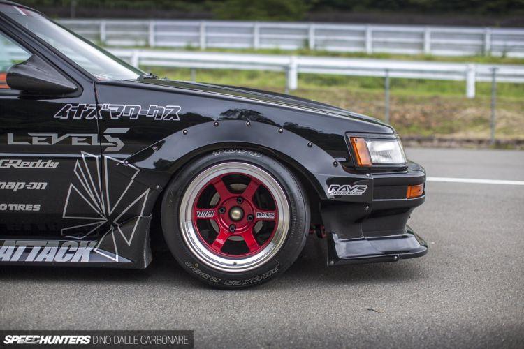 Toyota AE86 tuning custom drift race racing wallpaper