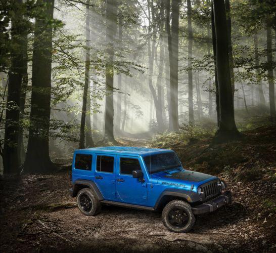 2016 Jeep Wrangler Unlimited Black-Bear J-K 4x4 suv wallpaper