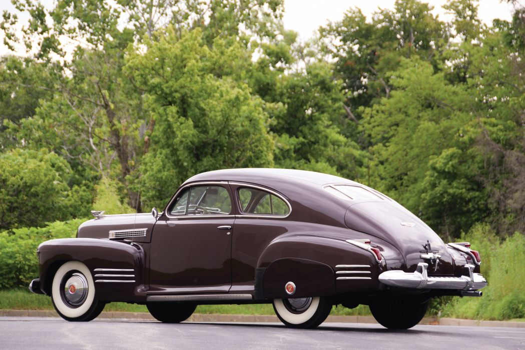 1941 Cadillac Sixty-One Coupe 6127 luxury retro wallpaper