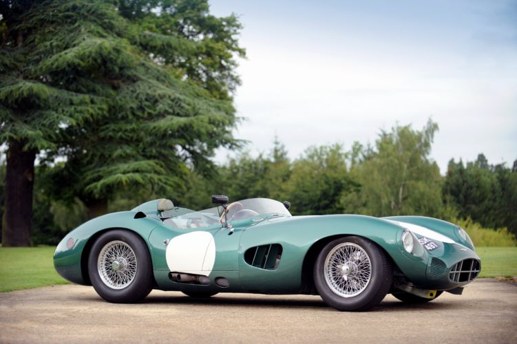 1959 Aston Martin DBR1 race racing retro supercar wallpaper