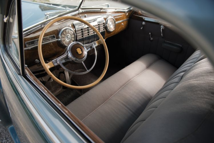 1941 Cadillac Sixty-One Coupe DeLuxe 6127D luxury retro wallpaper