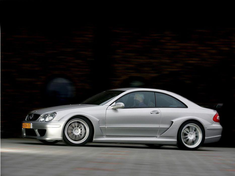2004 Mercedes Benz CLK55 AMG DTM Street-Version C209 race racing wallpaper