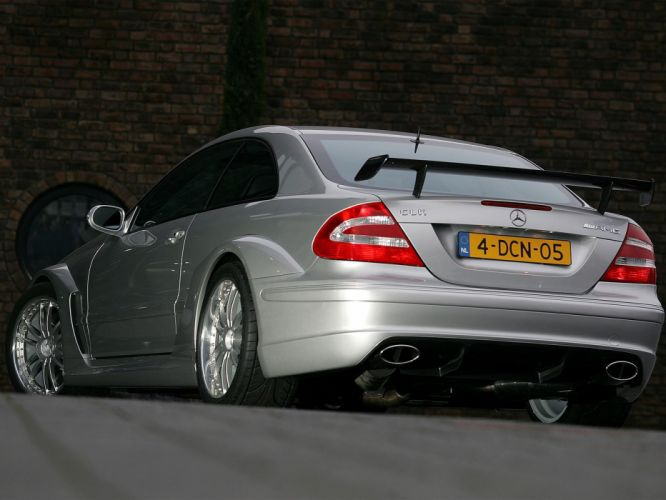 2004 Mercedes Benz CLK55 AMG DTM Street-Version C209 race racing wallpaper