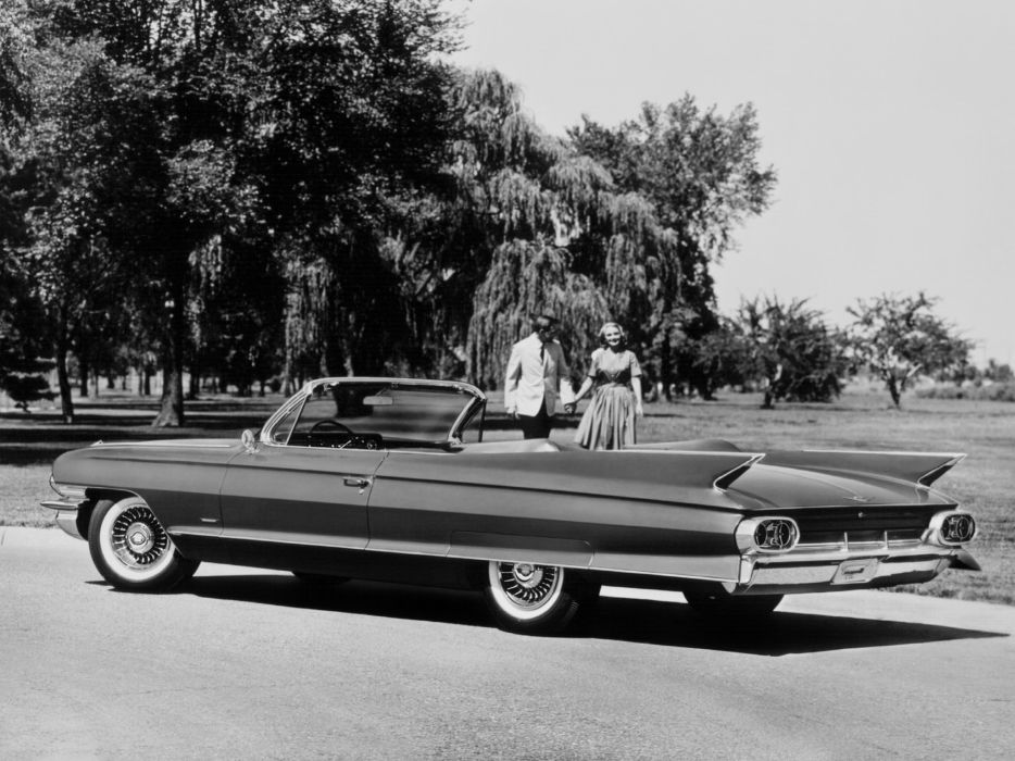 1961 Cadillac Sixty-Two Convertible 6267F luxury classic wallpaper